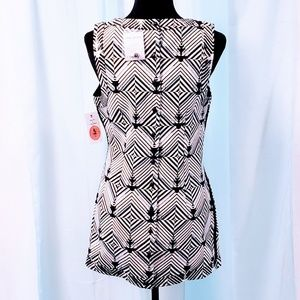 Free People Dresses - Free People Geometric Woven/Beaded Dress M🆕💞